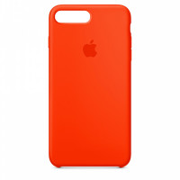 Накладка Silicone Case для iPhone 7 Plus/8 Plus (Orange)