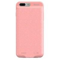 Чехол-аккумулятор Baseus 3650mAh для iPhone 7/8 Plus (розовый)