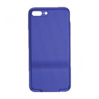 Чехол Baseus Audio Case 2xLightning для iPhone 7/8 Plus (Синий)