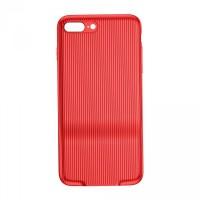 Чехол Baseus Audio Case 2xLightning для iPhone 7/8 Plus (Красный)