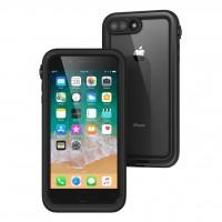 Противоударный чехол Waterproof для iPhone 7/8 Plus (Черный)