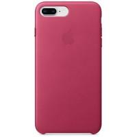 Накладка Leather Case для iPhone 7/8 Plus (Pink Fuchsia)