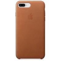 Накладка Leather Case для iPhone 7/8 Plus (Saddle Brown)