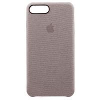 Накладка текстильная для iPhone 7 Plus/8 Plus (серый)
