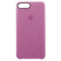 Накладка текстильная для iPhone 7 Plus/8 Plus (розовый)