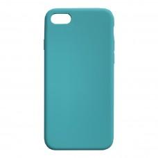 Бампер силиконовый для iPhone 7/8 Plus (бирюзовый)