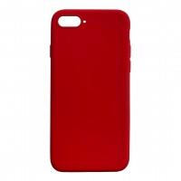 Бампер силиконовый для iPhone 7/8 Plus (красный)