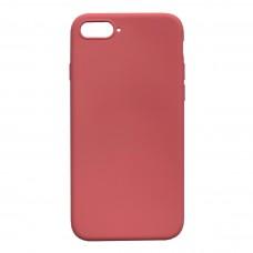 Бампер силиконовый для iPhone 7/8 Plus (розовый)