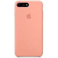 Накладка Silicone Case для iPhone 7/8 Plus (Peach)