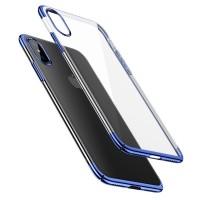 Чехол Baseus для iPhone Xs Glitter WIAPIPH58-DW03 (синий)