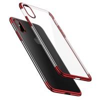Чехол Baseus для iPhone Xs Max Glitter (красный)