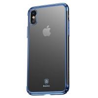 Чехол Baseus Minju Case для iPhone X (Синий)