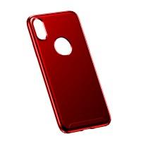 Чехол Baseus Soft Case для iPhone X (Красный)