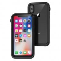 Противоударный чехол Waterproof для iPhone Xr (Черный)