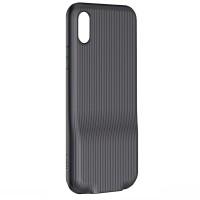 Чехол Baseus Audio Case для iPhone X (Черный)