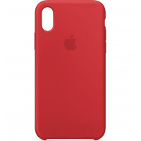 Накладка Silicone Case для iPhone Xr (Red)