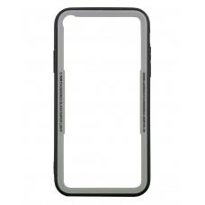 Бампер стеклянный для iPhone XR cs0002 (белый)