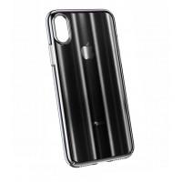 Чехол Baseus Aurora Case для iPhone Xs Max (Черный)