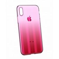 Чехол Baseus Aurora Case для iPhone Xs Max WIAPIPH65-JG04 (Розовый градиент)