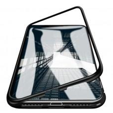 Магнитный чехол для iPhone XR (Черный)