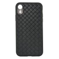 Силиконовый чехол для iPhone XR TPU-0001 (черный)