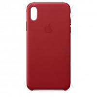 Накладка Leather Case для iPhone Xr (RED)