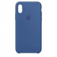 Накладка Silicone Case для iPhone Xr (Delft Blue)