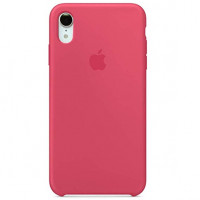 Накладка Silicone Case для iPhone Xs Max (Hibiscus)