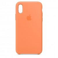 Накладка Silicone Case для iPhone Xr (Papaya)