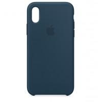 Накладка Silicone Case для iPhone Xr (Pacific Green)