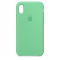 Накладка Silicone Case для iPhone Xr (Spearmint)