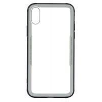 Бампер стеклянный для iPhone Xs cs0002 (Белый)