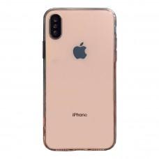 Бампер силикон+пластик для iPhone X/Xs (прозрачный)