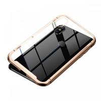 Чехол Baseus magnetite case для iPhone X/Xs WIAPIPH58-CS0V (золото)