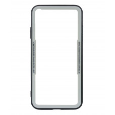 Бампер стеклянный для iPhone Xs Max cs0002 (Белый)