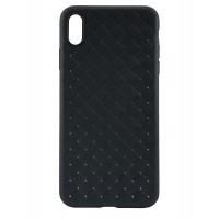 Силиконовый чехол для iPhone Xs Max TPU-0001 (Черный)