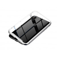 Чехол Baseus magnetite case для iPhone Xs Max (серебро)