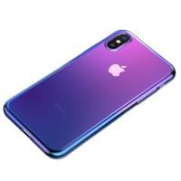 Чехол Baseus для iPhone XR Full Glow (синий)