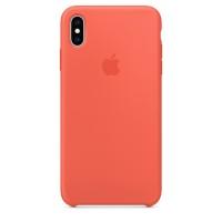 Накладка SIlicone Case для iPhone Xs Max (Nectarine)