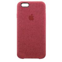Накладка текстильная для iPhone 6/6s (красный)
