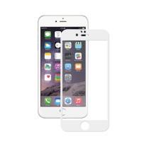 Защитное стекло 6D для iPhone 6 Plus/ 6s Plus (белый)