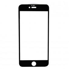 Защитное стекло 9D для iPhone 6/6s (черный)