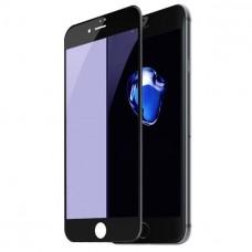 Защитное стекло 9D для iPhone 7/8 (черный)