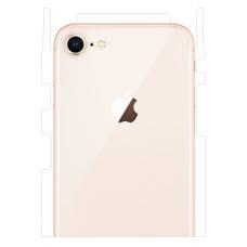 Защитная пленка на заднюю крышку для iPhone 7/8 (глянцевый-прозр.)