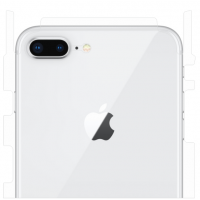 Защитная пленка на заднюю крышку для iPhone 7/8 Plus (матовый-прозр.)