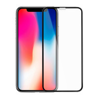 Защитное стекло 6D для iPhone Xs/11Pro Max (черный)