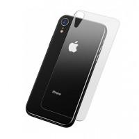 Заднее защитное стекло Baseus для iPhone Xr (Прозрачное)