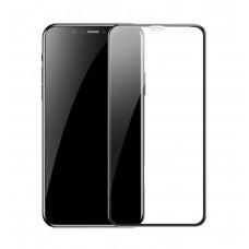 Защитное стекло Baseus для iPhone Xr (Черное, Anti-blue Light)