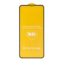 Защитное стекло 9D для iPhone Xs/11Pro Max (черный)