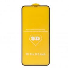 Защитное стекло 6D для iPhone XR (черный)